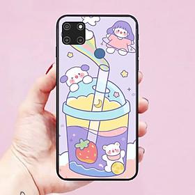 Ốp lưng điện thoại dành cho Realme C12 Hình RoRo Jump Cute