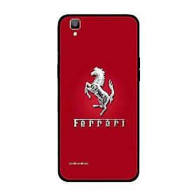 Ốp lưng dành cho điện thoại Oppo F1 in họa tiết Logo F E R R A R I