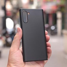 Ốp Lưng Dẻo Cho Samsung Galaxy Note 10/ Note 10 Plus (Đen)
