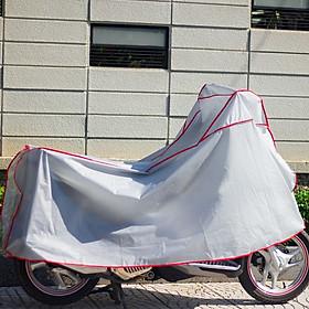 Bạt phủ xe máy loại dày che nắng mưa bụi bẩn - ghi