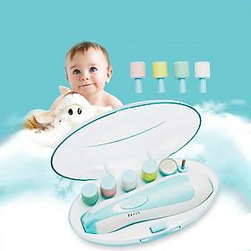 Bộ dũa móng tay 6 đầu dũa đa năng cho mẹ và bé