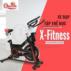 [ Hàng chính hãng ] Xe đạp thể thao X-Bike ( Cảm biến nhịp tim ) Tặng kèm 1 bình đựng nước và 1 đồng hồ điện tử