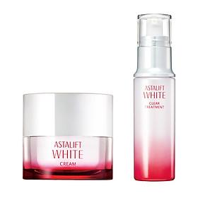 Combo Kem Dưỡng Trắng Da Astalift White Cream 30g