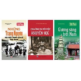 Combo Tủ sách lịch sử - Các trạng Việt Nam (Bộ 3 cuốn)