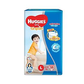 Tã quần HUGGIES DRY PANTS JUMBO mẫu mới