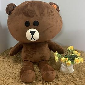 Gấu bông Brown đầu to 70cm