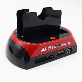 """2.5"""" 3.5"""" IDE SATA HDD Hard Drive Disk Docking Station Card Base Case"""