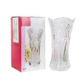 Bình cắm hoa thủy tinh cao cấp 20cm