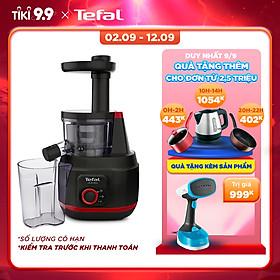 Máy ép trái cây Tefal/ Máy ép chậm Tefal ZC15083 - Công suất 150W - Dung tích 0.8L - Ống dẫn kích thước lớn - Giữ trọn dinh dưỡng - Hàng chính hãng
