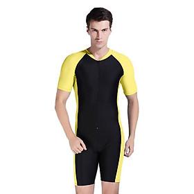 Đồ Bơi Nylon Nam Xanh Đen (Size L)
