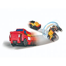 Transracers - Xe xúc xẻng biến hình Xe cứu hỏa VECTO VN463875-14