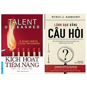 Combo 2 cuốn kỹ năng lãnh đạo: Kích Hoạt Tiềm Năng – Bí Ẩn Bất Ngờ Từ 3 Cuộc Trò Chuyện + Lãnh Đạo Bằng Câu Hỏi