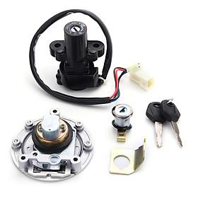 Ignition Switch Lock  F uel Gas Cap Key Set For Y amaha MT03 06-12 YZF R6 R1 UK