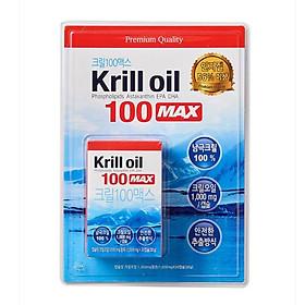 Healing Antarctic Krill Oil Max 1,000mg X 30 Capsules