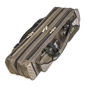 Túi Đựng Bộ Dụng Cụ Cần Câu Cá 3 Ngăn (80cm/90cm)