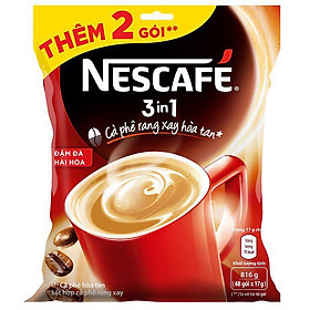 Big C - Café Nescafe 3in1 đậm đà 46*17g - 28064