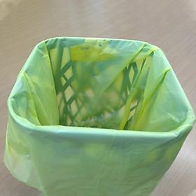 Combo 10 bịch túi rác 3 màu thân thiện môi trường size trung (55*65 cm) + Tặng 3 bịch túi rác cùng loại