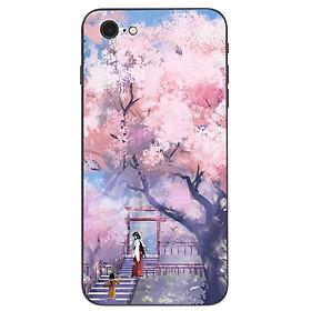 Hình ảnh Ốp điện thoại dành cho máy iPhone 5/5s/se - 2 mẹ con MS ACIKI004