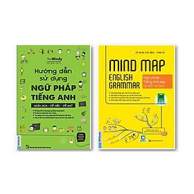 Combo Hướng Dẫn Sử Dụng Ngữ Pháp Tiếng Anh + Mind Map English Grammar – Ngữ pháp tiếng anh bằng sơ đồ tư duy ( tăng kèm IRing siêu dễ thương )