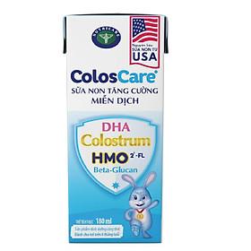 Thùng sữa công thức pha sẵn Nutricare ColosCare (180ml x 48 hộp)- sữa non tăng cường miễn dịch
