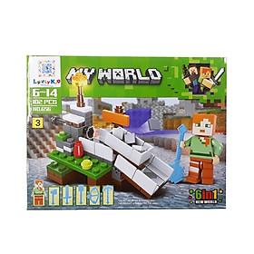 Bộ Xếp Hình - My World - 656 (LI46) - Mẫu 3