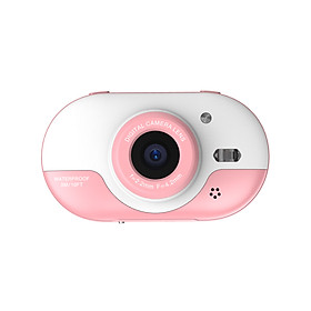 8MP Children Digital Camera Kids Waterproof Camera with Front and Rear Dual Cameras 2.4 Inch IPS HD Screen One-click