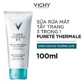 Sữa Rửa Mặt Tẩy Trang 3 Tác Dụng Vichy - M2914500 - 100703308 (100ml)