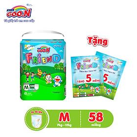 Tã quần Goo.n Friend gói cực đại S62/M58/L48/XL42/XXL34 + Tặng 10 miếng cùng size-2