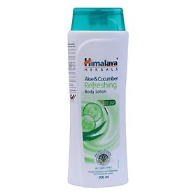 Sữa Dưỡng Thể Lô Hội Và Quả Dưa Chuột Tươi Mát Cho Da Himalaya Herbals (200ml)