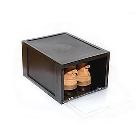 [HÀNG CAO CẤP] Hộp đựng giầy snecker thông minh Song Long, có lỗ thoáng khí, có thể xếp chồng, Tặng gói chống ẩm mốc