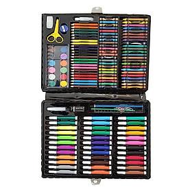 Hộp bút màu 150 chi tiết cho bé - Tặng 1 khăn lau mặt hình thú