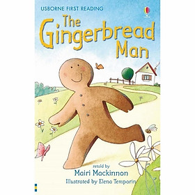 Sách thiếu nhi tiếng Anh - Usborne First Reading Level One: The Gingerbread Man