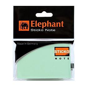 Bộ 2 Giấy Ghi Chú Elephant Xanh Lá Cây