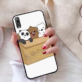 Ốp lưng dành cho Huawei Y7 Pro 2019 viền dẻo TPU bộ sưu tập Chúng ta là gấu - Hàng chính hãng
