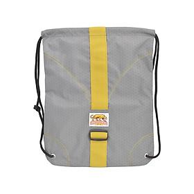 Túi Dây Rút Diamond Backpack Stronger Bags S9-05 (43 x 34 cm) - Xám Sọc Vàng