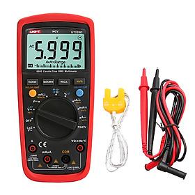 UNI-T UT139E True RMS Multimeters Multi-functional Digital Multimeter with Backlight LCD Display Measuring DC/AC Voltage