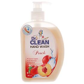 Nước rửa tay Dr Clean Đào 500ml
