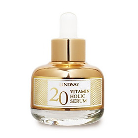 Serum Vitamin C làm trắng &chống lão hóa - LINDSAY VITAMIN HOLIC 20 SERUM