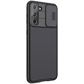 Ốp lưng cho Samsung Galaxy S21 Plus, S21 Ultra bảo vệ camera Nillkin CamShield chính hãng