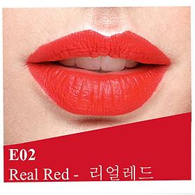 Son lì dưỡng, siêu mềm mượt Benew Perfect Kissing Hàn Quốc 3.5g E02 Real Red tặng kèm móc khóa-1