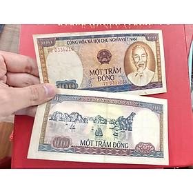 Tờ 100 Đồng Việt Nam 1980 vịnh hạ long , tiền cổ việt Nam thời kỳ bao cấp đã hết lưu hành - The Merrick Mint - PVN2367