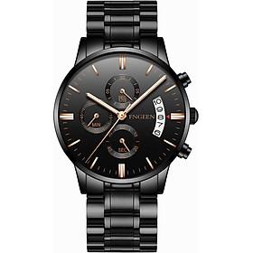 Đồng hồ nam FNGEEN 5055 dây thép cao cấp