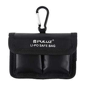 Túi Đựng Pin Máy Ảnh Chất Liệu PVC Puluz Lipo (12.2cm x 8.7cm) - Đen
