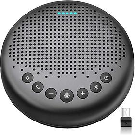 Loa Hội Nghị Emeet Luna - Bluetooth, Micro R Kèm Loa, Thu Âm 360 Độ, Lọc Tạp Âm Nền, Phù hợp 4-8 Người - Hàng Chính Hãng
