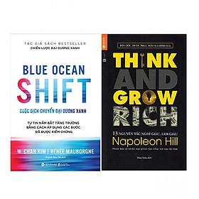 Combo  Cuộc Dịch Chuyển Đại Dương Xanh +  13 Nguyên Tắc Nghĩ Giàu Làm Giàu - Think And Grow Rich (Tái Bản)