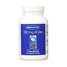 Allergy Research Group, Zen 200mg, 180 Veg Capsules with Suntheanine and GABA