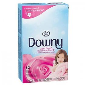Giấy thơm Downy Fabric April Fresh 80 tờ - USA
