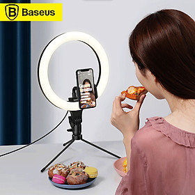Xiaomi Youpin Baseus Table Light Lamp 3 Light Color 10 Inch Light Ring Studio Camera Ring Light Video Light Universal