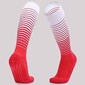 Men Women Sports Stockings Thick Breathable Anti-Slip Wearproof Running Hiking Football Sports Socks