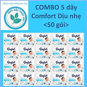 COMBO 5 dây Nước Xả Vải Comfort Diu nhe